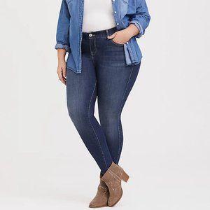 Torrid Bombshell High Rise Skinny Jeans 10S